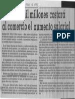 Edgard Romero Nava Mas de 7mil Millones Costara Al Comercio Aumento Salarial - El Universal 12.05.1987
