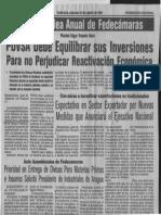 Edgard Romero Nava PDVSA Debe Equilibrar Sus Inversiones Para No Perjudicar Reactivacion Economica - Ultimas Noticias 27.06.1987