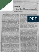 Entre Lineas de la Economía - Hugo Lopez - El Nacional 12.04.1987