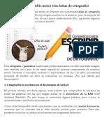 10 consejos para escribir mejor (sin faltas de ortografía) | Emezeta.pdf