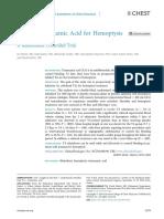ACIDO TRANEXÁMICO Y HEMOPTISIS