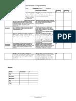 Evaluación Inicial y o diagnóstica 2019 HISTORIA 3°