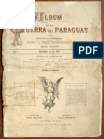 Album de la Guerra del Paraguay (6 paginas)