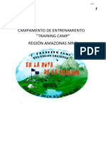 Training Camp Amazonas 2019