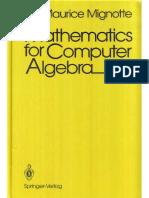 Matematica p algebra computacional Mignotte M..pdf