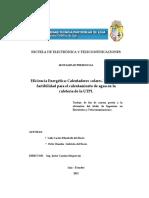 Eficiencia Energética Calentadores solares. Estudio de.pdf