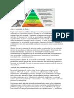 Qué Es La Pirámide de Maslow