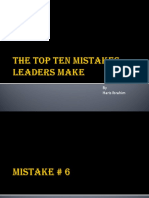 The-Top-Ten-Mistakes-Leaders-Make.ppt