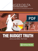 The Budget Truth - Africa and SDGs. The Truth.