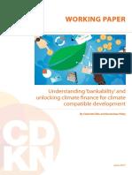 CDKN Unlocking Climate Finance
