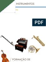 Famílias de Instrumentos e Proporção Na Orquestra