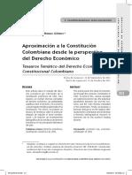Aproximación a la constitución colombiana desde la perspectiva del derecho económico.pdf
