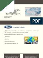El Diseño de Nuevos Automóviles