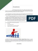 Normas, Politicas y Procedimientos