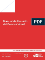 Manual de Usuario Del Campus Virtual