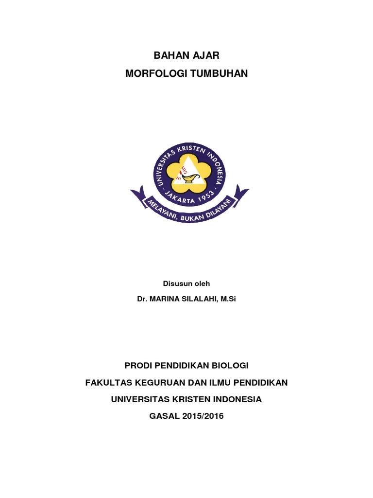 MORFOLOGI TUMBUHAN Pdf