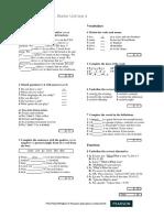 Revision Test Starter Unit (4)