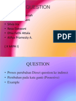 Question x Mipa 1