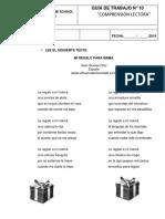 Guía N° 10. Poema