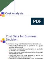 Cost Analysis