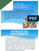 GESTION DEFINICION DEL  MANTENIMIENTO II.pptx
