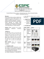 Informe 2 U1-Circuitos Eléctricos