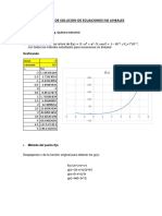Ecuaciones No Lineales Metodos Numericos
