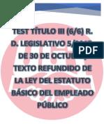 Test Título III (6-6) Estatuto Básico del Empleado Público.pdf