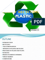 Plastic Recycling Presentation