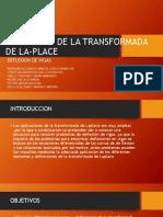 Aplicación de La Transformada de La-place
