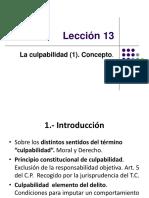 Lección 13