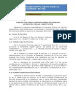 Fuentes Con Rango Constitucional La Constitución