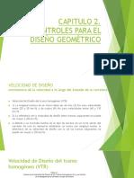 CAPITULO 2 Manual de Diseño Geometrico