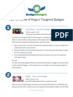 Badge Hungry Toughest Badge Tips