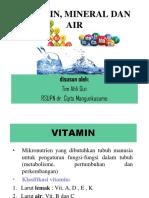 KULIAH 2 A-VITAMIN, MINERAL, AIR (untuk mahasiswa).ppt