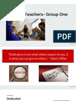 week 3 inspired teacher collaborative group presentation