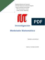 Matematica modelado Matematico