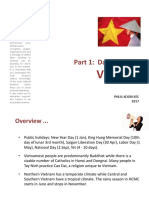 Part 1 - Daily Living in Vietnam