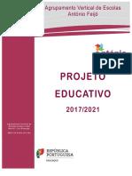 Projeto Educativo Final Agrupamento de Escolas António Feijó