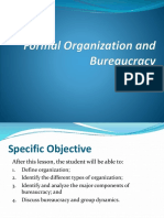 Formal Organization and  Bureaucracy.pptx