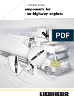 Liebherr Hydraulic Components for Heavy Duty on Highway Engines Application Flyer Es Web