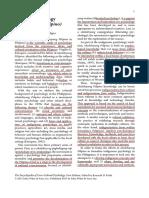 Yacat Jay (2013) Filipino Psychology (Sikolohiyang Pilipino)