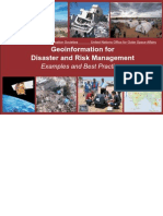 Geoinformation for Disaster and Risk Management