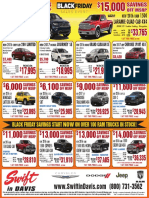 Swift Chrysler Jeep Dodge Ram Newspaper Ad