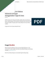 Membuat Wordlist Bhs Indonesia Menggunakan CUPP