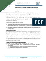 ESPECIFICACIONES TECNICAS DEL PUENTE L=20M PROGRESIVA 60+250