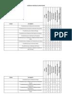 Matriz de Capacitación de Comité de Validación