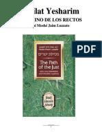 Mesilat Yesharim (Camino de los rectos), Ramjam (ed).pdf