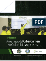 Informe Amenazas de Cibercrimen en Colombia 2016 - 2017