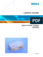 WHP25 User Guide in English